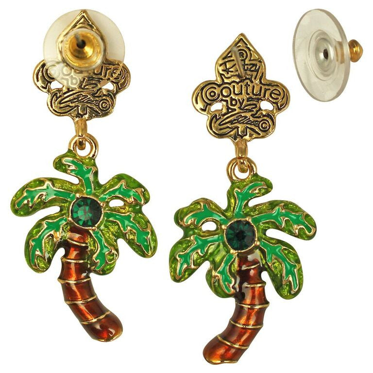 Royal Palms Tree charm Earrings | Jewelry Earrings