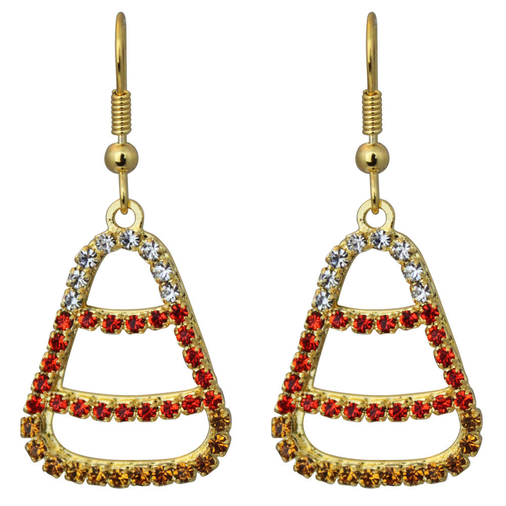 Candy Corn Earrings - Lunch At The Ritz Earrings