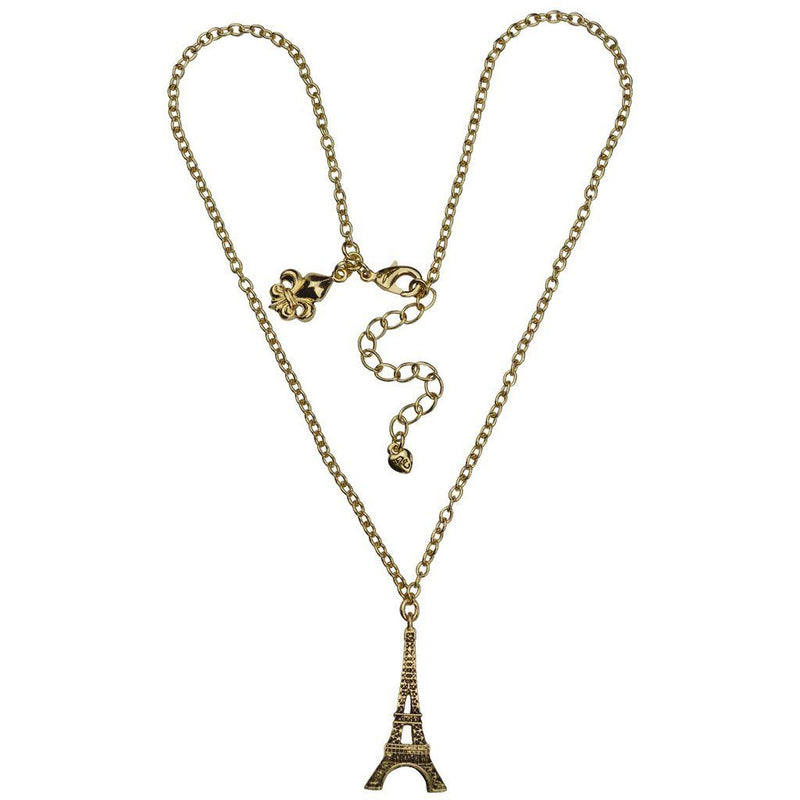 Paris Eiffel Tower | Charm Necklace | Necklace Jewerly