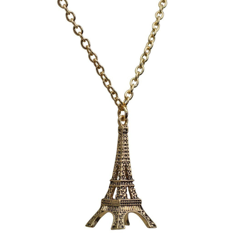 Paris Eiffel Tower Charm Necklace | Necklace Jewerly