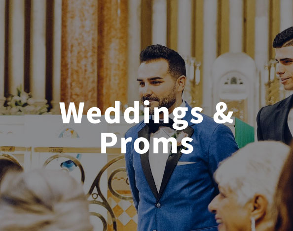 Shop Lapels for Weddings, Proms, and Special Events