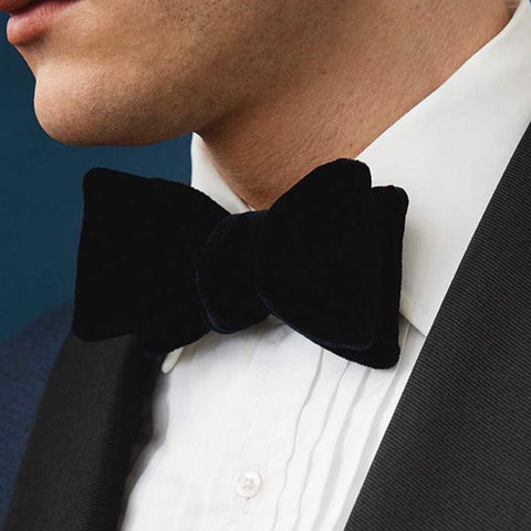 Satin Self tie Bow tie