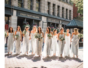 A Bride's Guide to Choosing the Right Dress for her Bridesmaids