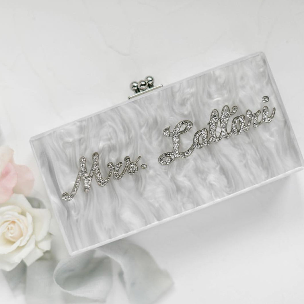 Rae of Light Custom Clutch Rectangular Size