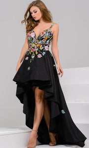 Jovani Floral Embroidered Gown JP48778A