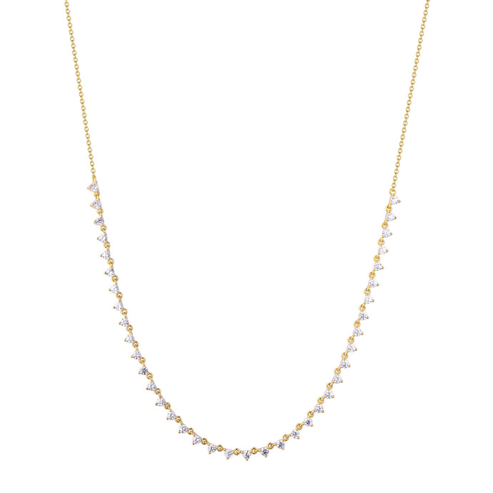 Samfa Style Diamond Necklace