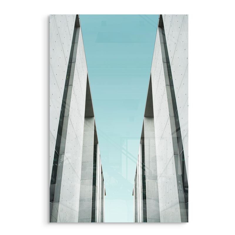 concept 2 architecture acrylic photo print modern wall art