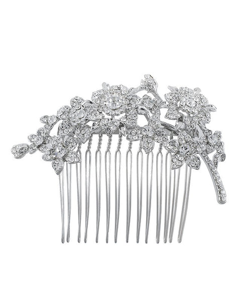 Flower Cluster Hair Comb