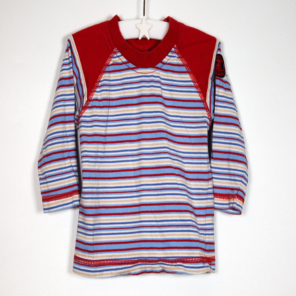 Boys Longsleeve - 03-06M Striped Long Sleeve