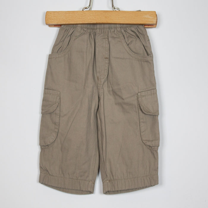Boys Pants - 00-00M Lined Cargo Pants