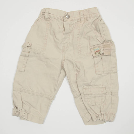 Boys Pants - 03-06 Cream Cargo Pants