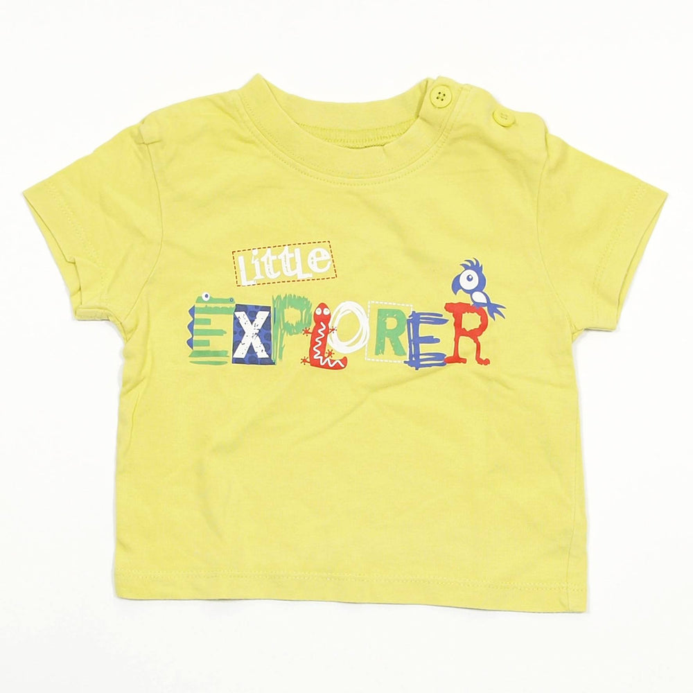 Boys T-shirt - 00-03 Little Explorer T-Shirt