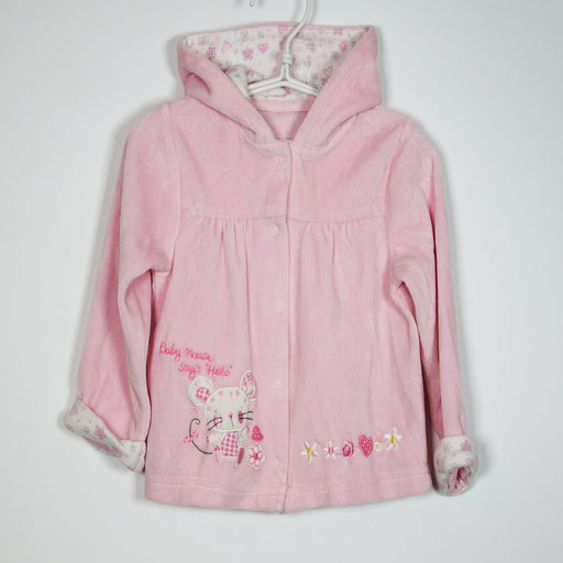 Cardigan - 6-9M Baby Mouse Hooded Cardigan