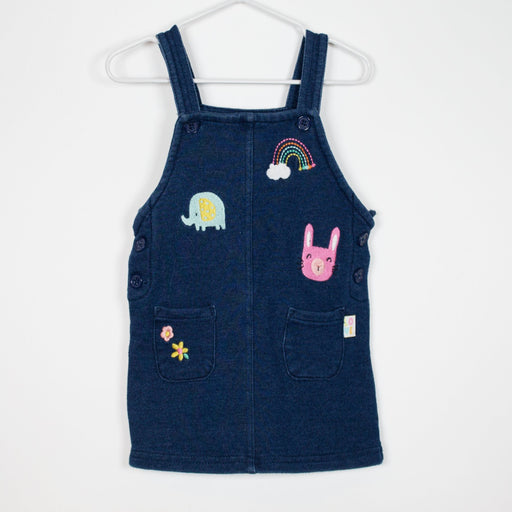 Dress - 00-03M Dungaree Dress