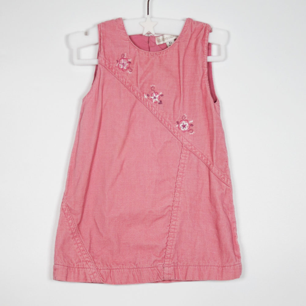 Dress - 00-03M Dusky Pink Dress