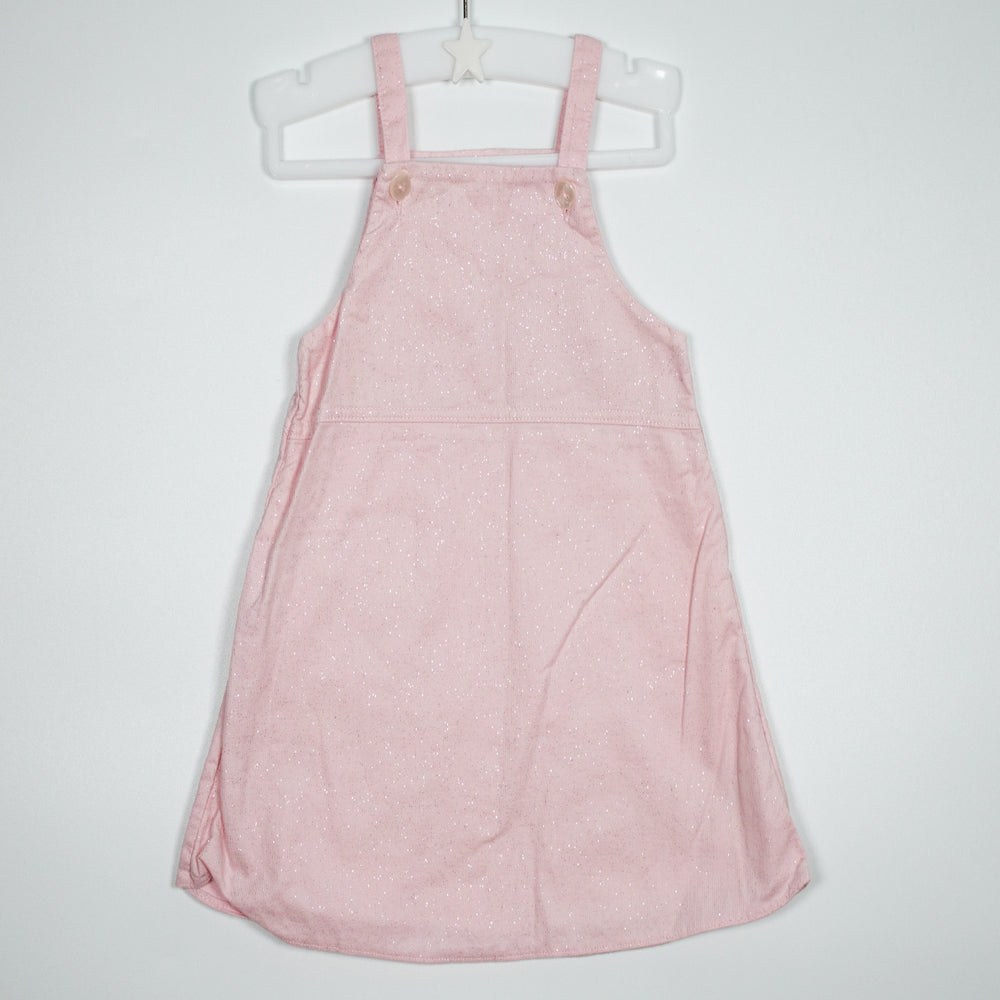 Dress - 00-03M Sparkle Dungaree Dress