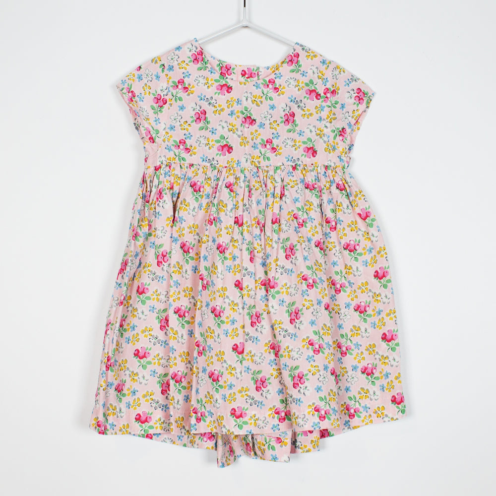Dress - 3-6M Flowers On Pink Dress