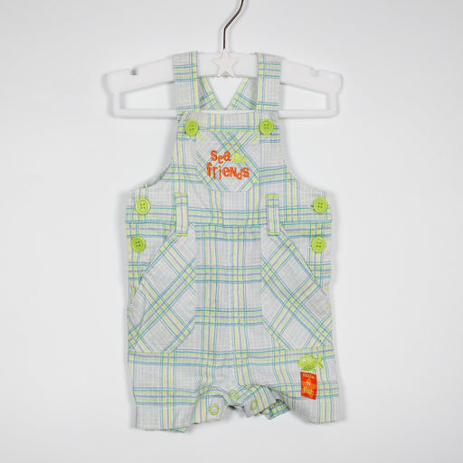 Dungarees - 00-00M Sea Friends Dungarees