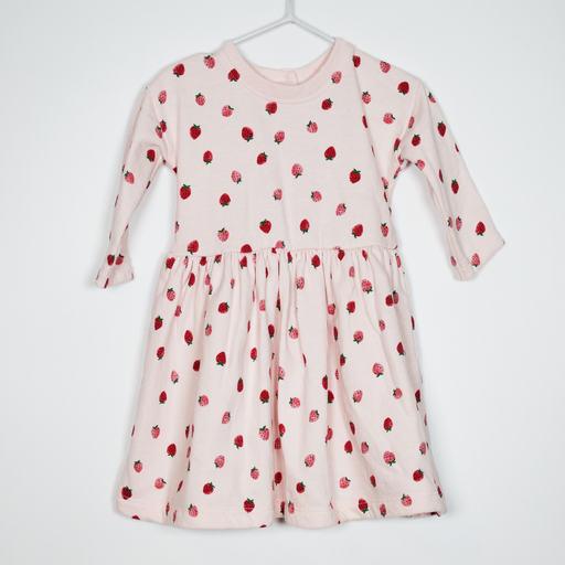 0-3M Strawberries Dress