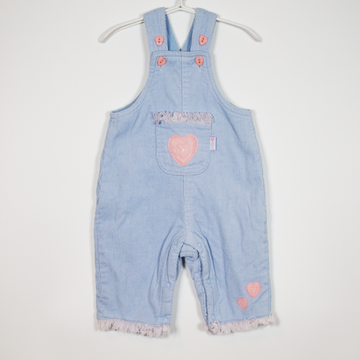 0-3M Extra Warm Dungarees