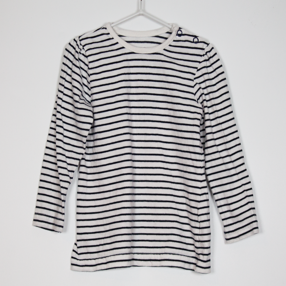 9-12M Basic Stripe Top