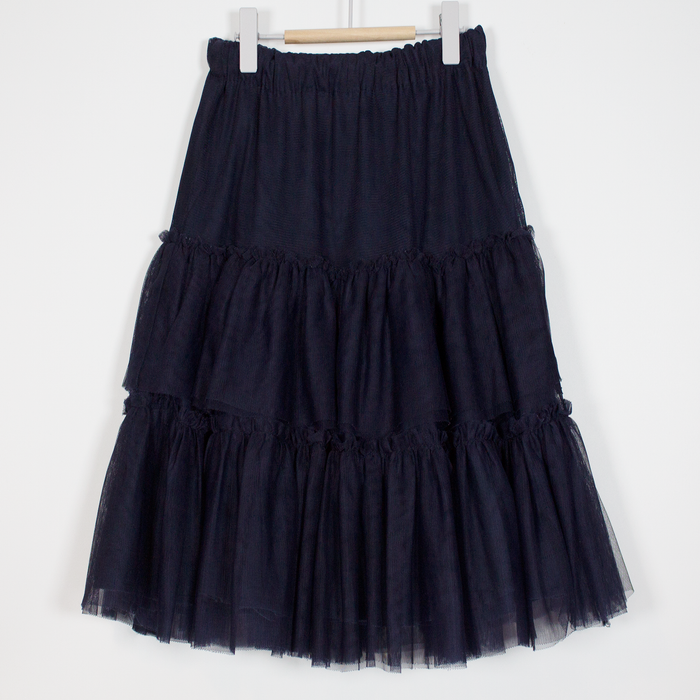 8-9Y Navy Tier Skirt