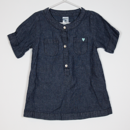 9M Denim Heart Tunic