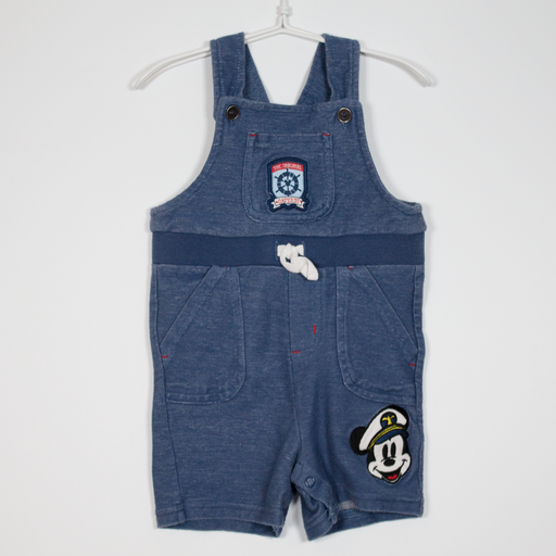 3-6M Captain Mickey Dungarees