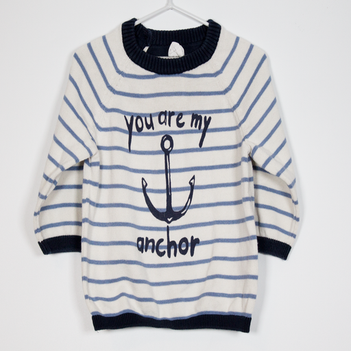 4-6M You are my Anchor Sweater