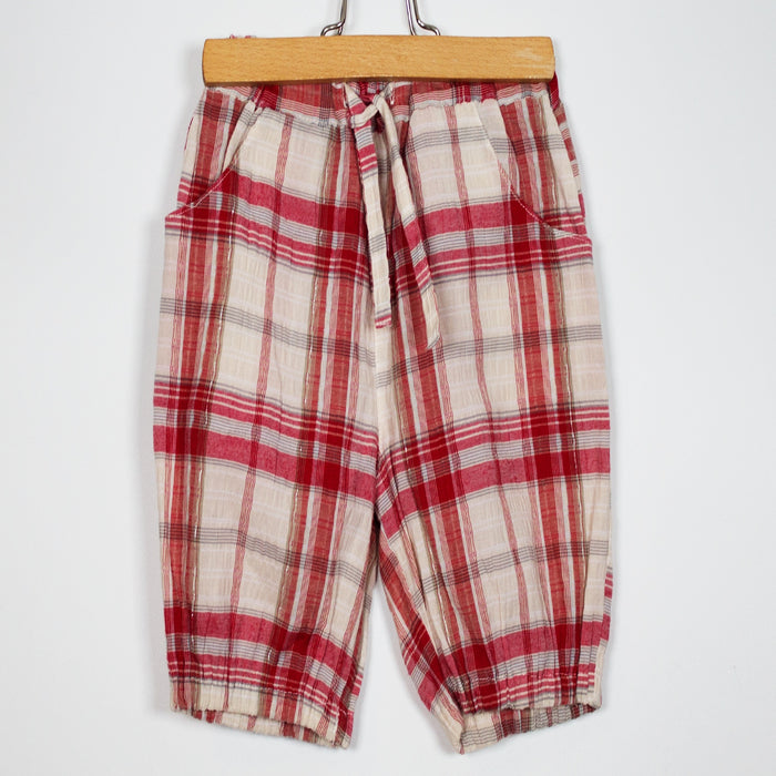 Girls Pants - 03-06M Tartan Pants