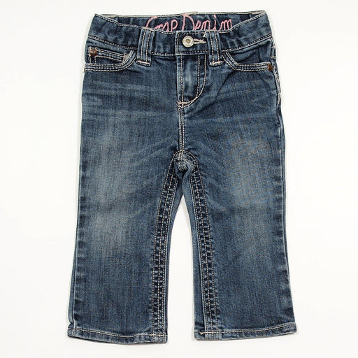 Girls Pants - 12-18 Solid Jeans
