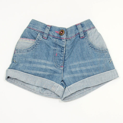 Girls Shorts - 09-12 Light Blue Denim Shorts