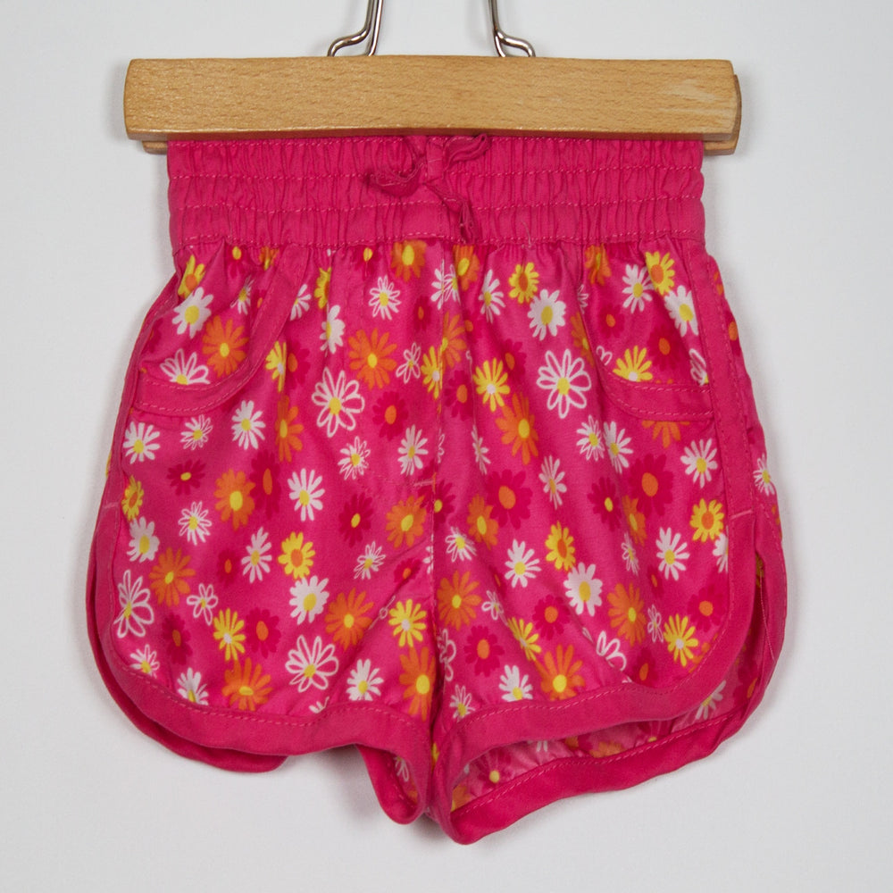 Girls Shorts - 09-12M Colourful Swim Shorts