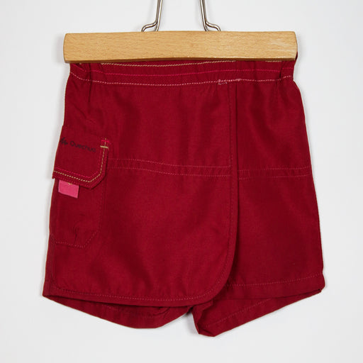 Girls Shorts - 09-12M Wine Skort