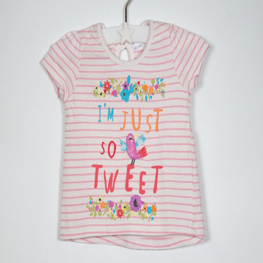 Girls T-shirt - 00-00M So Tweet T-Shirt