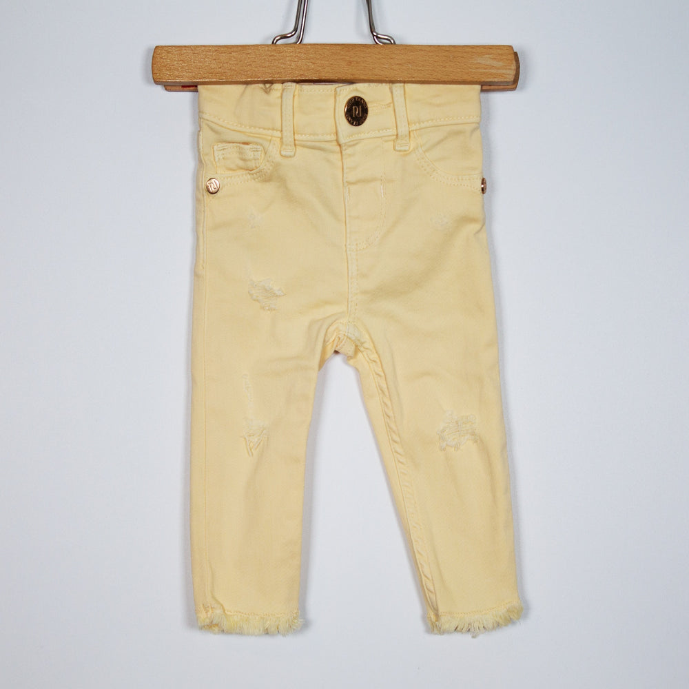 Jeans - 00-03M Yellow Jeans