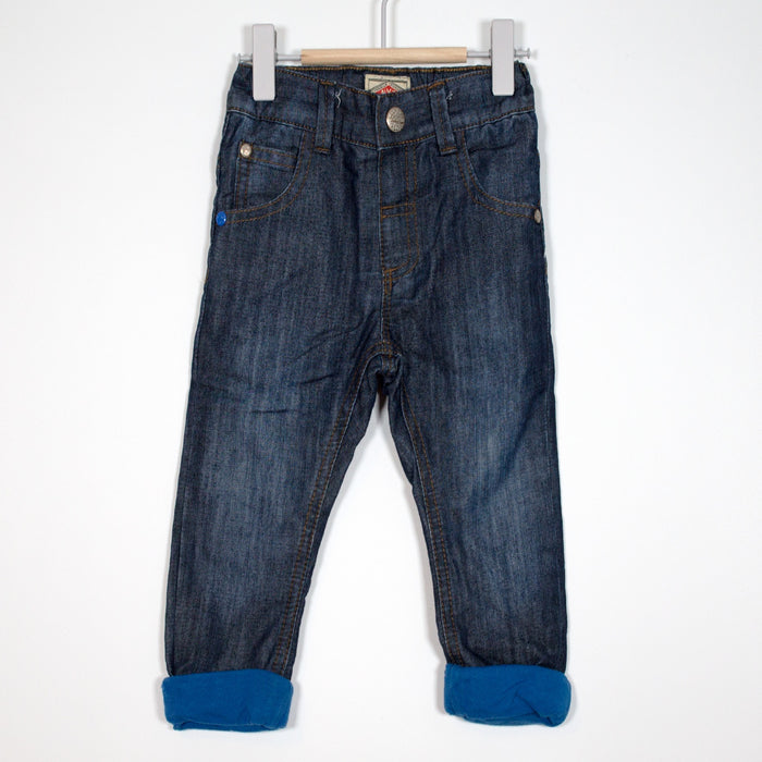 Jeans - 9-12M Blue Turn Up Jeans