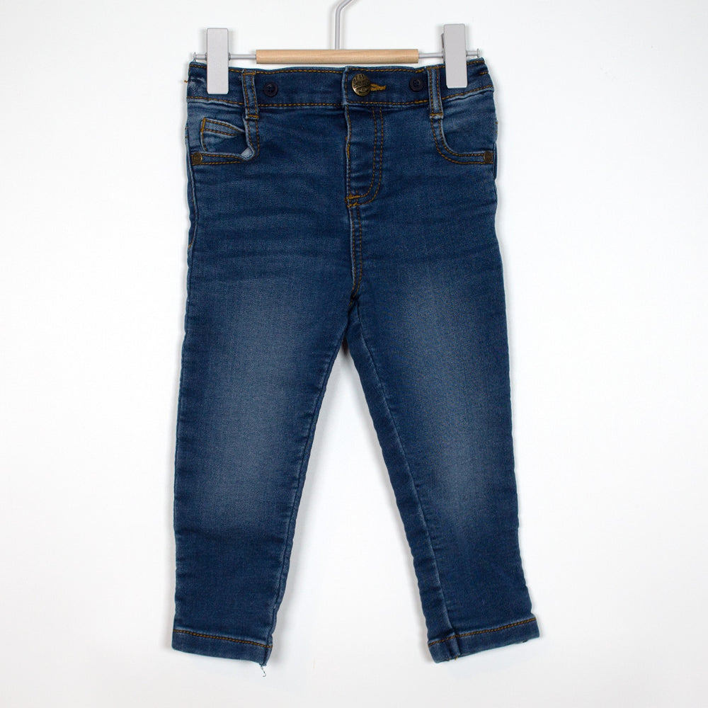 Jeans - 9-12M Navy Stretch Jeans