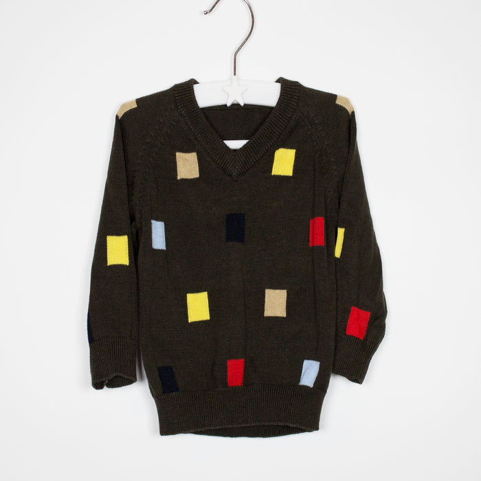 Jumper - 03-06 Squares Sweater