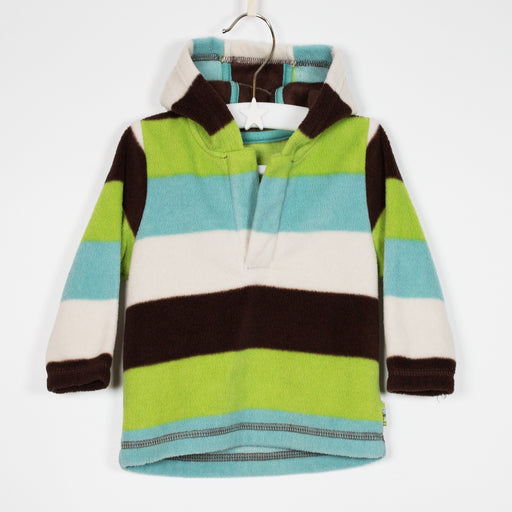 Jumper - 03-06M Stripe Fleece