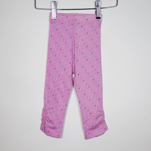 Leggings - 03-06M Lilac Polka Dot Leggings