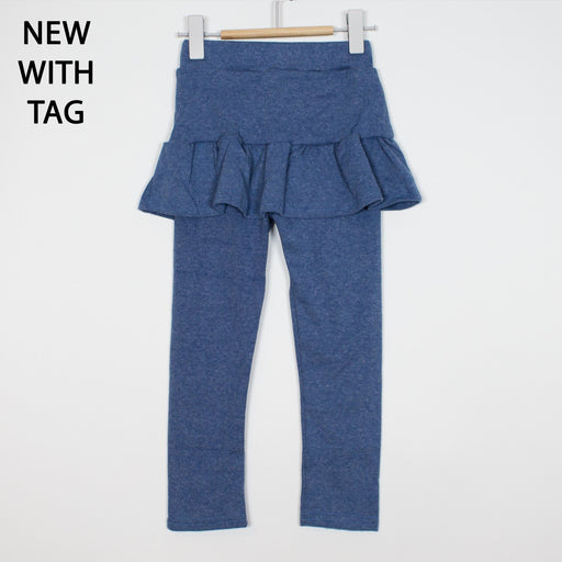 Leggings - 2-3Y Blue Skirted Leggings