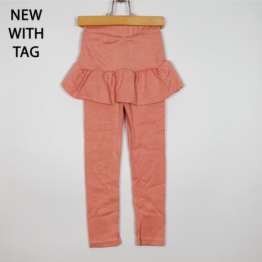Leggings - 2-3Y Coral Skirted Leggings