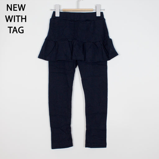Leggings - 2-3Y Navy Skirted Leggings