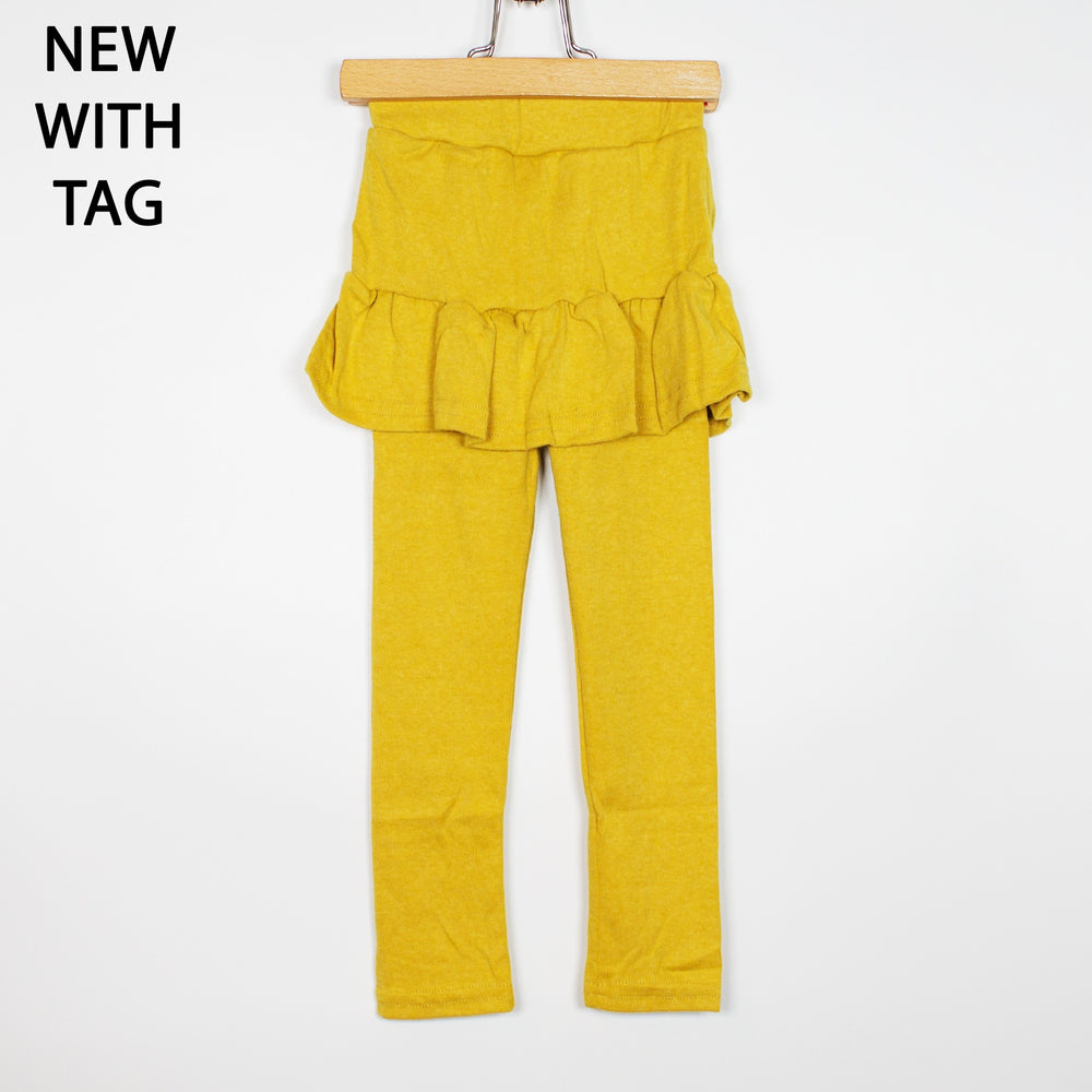 Leggings - 24-36/2-3 Mustard Skirted Leggings