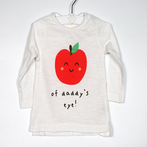 Long Sleeve - 00-03M Apple Long Sleeve Top