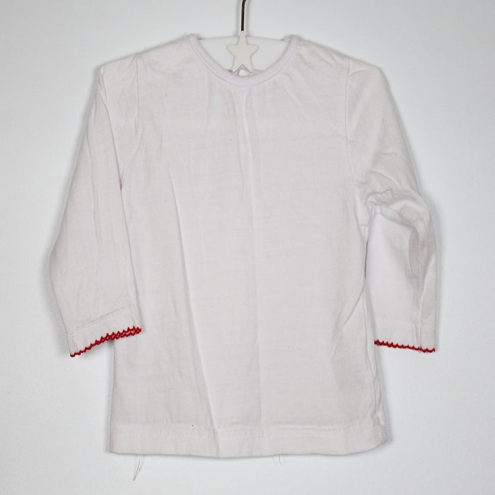 Long Sleeve - 03-06M White Long Sleeve