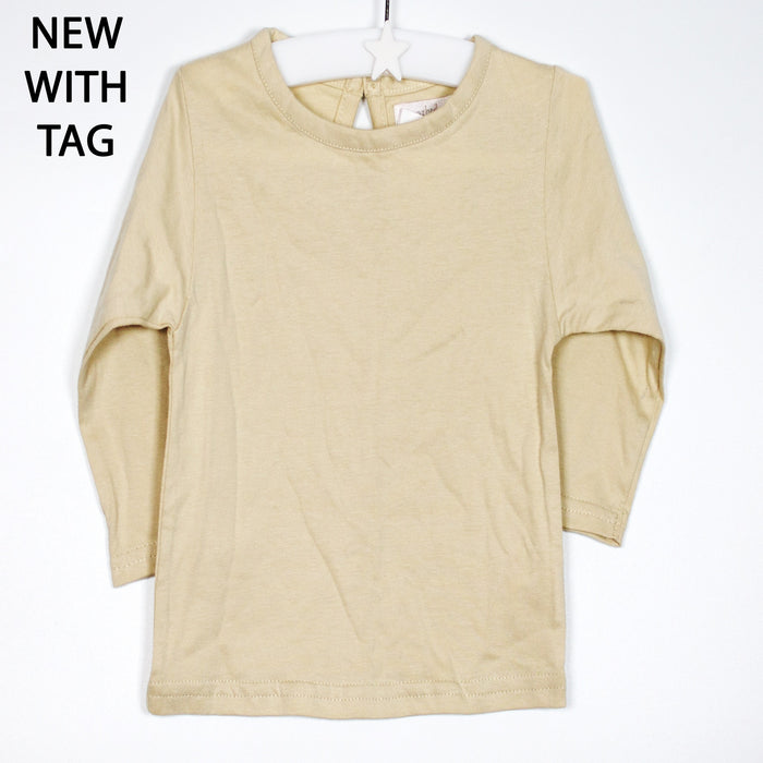 Long Sleeve - 06-12M Wheat Long Sleeve