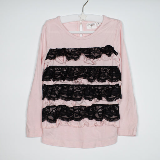 Long Sleeve - 48-60/4-5 Ruffle Top