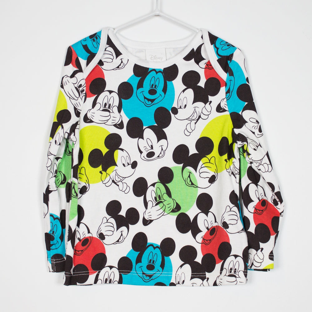 Long Sleeve - 6-9M Mickey Mouse Top